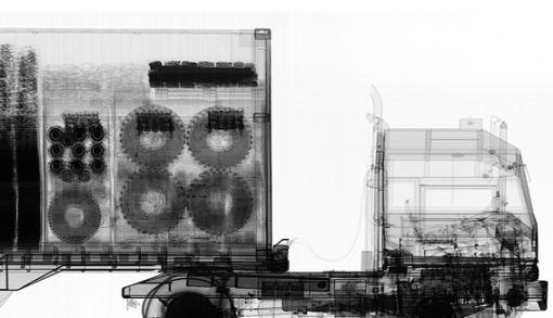 mobil x-ray konteyner tarama