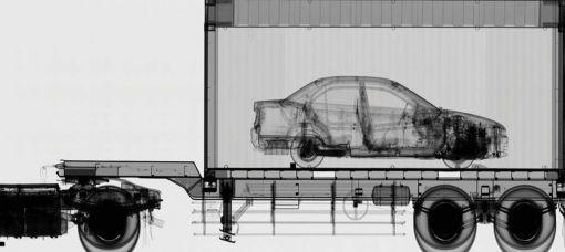 mobil x-ray araç tarama arama sistemi